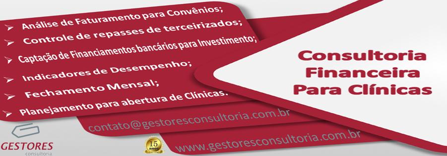 Consultoria Financeiro para Clínicas